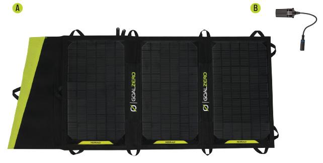 panel solar nomad 20-incluye