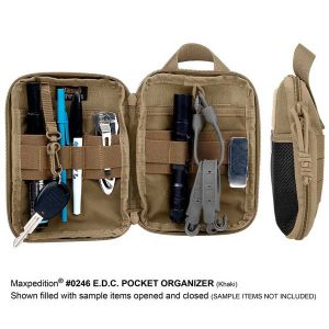 E.D.C POCKET ORGANIZER maxpedition