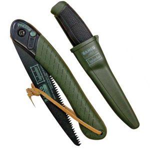 SIERRA BAHCO LAPLANDER y cuchillo