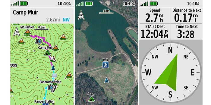 Pantallas GPS Map 66i
